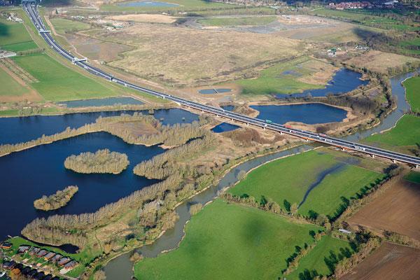 UK's biggest road project opens ahead of schedule