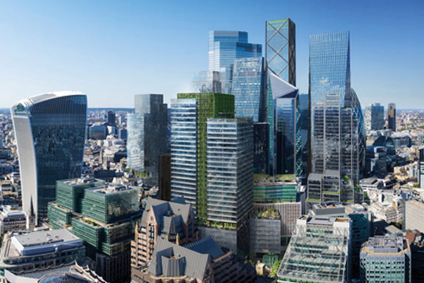 City of London's green tower gets the go-ahead