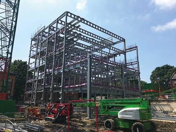 Steel rises for new Leeds University business school