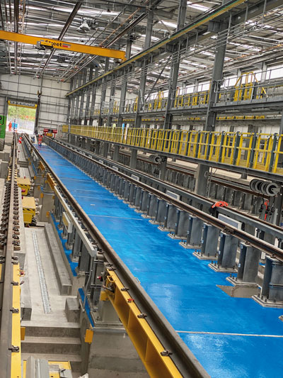 Steel's the ticket for new rail depot