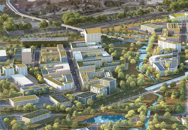 Birmingham's Arden Cross launches £3bn masterplan