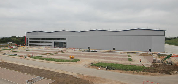 Steel up for Doncaster distribution centre