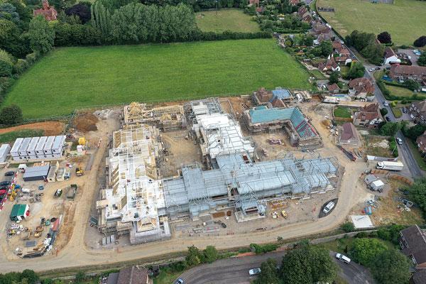 Steel completes for Kent retirement village
