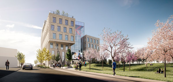 Plans revealed for Middlesbrough office scheme