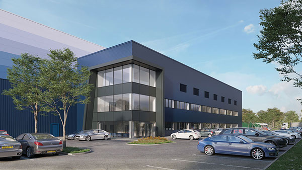 Developer constructing 90,000 square metres of logistics and distribution space as demand soars