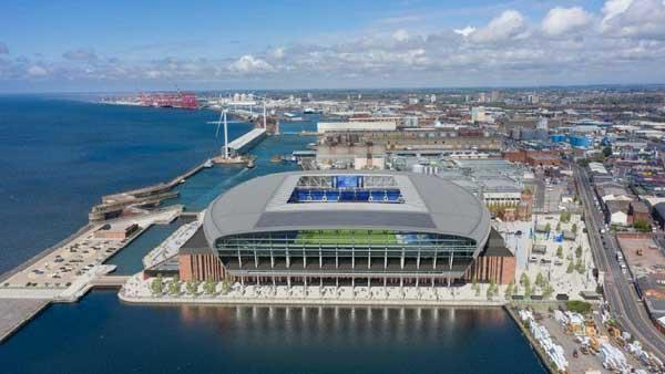 Green light for Everton Bramley Dock stadium