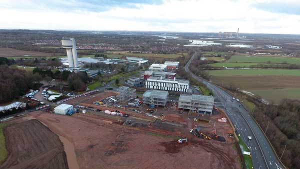 Steel design blossoms at business park