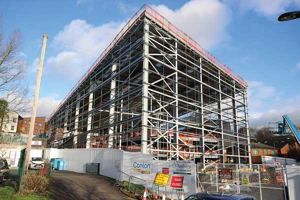 Steel up for Olympic-level climbing centre