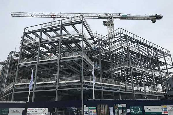 Steel completes on major Edinburgh educational facility
