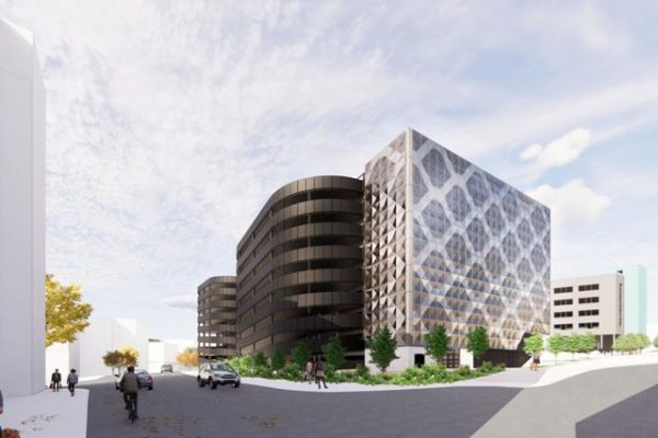 Contract awarded for £22.9M steel-framed Gateshead Quays multi-storey car park