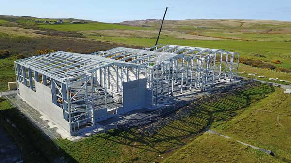 Supporting sustainable steel construction