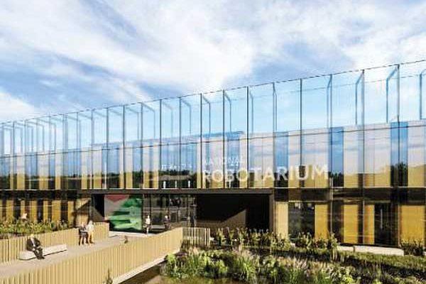 Work starts on £22M Edinburgh robotics research centre