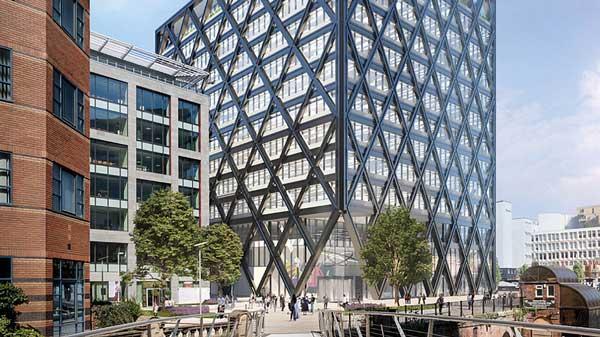 Construction begins on fourth steel-framed New Bailey scheme