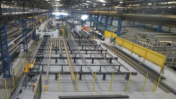 Driving efficiency in steel fabrication