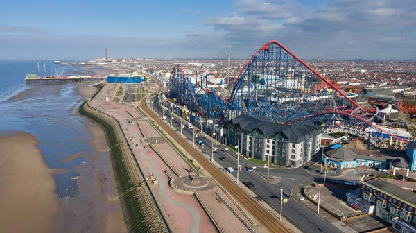 UK's tallest rollercoaster gets retracked
