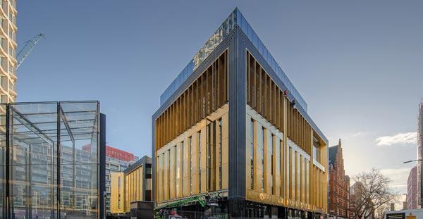 Landmark central London entertainment venue completed