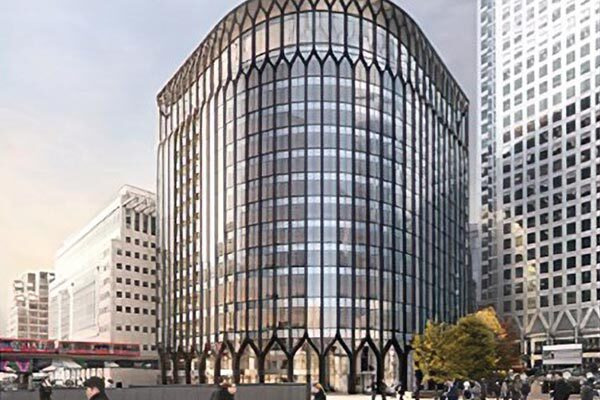 Work set to begin on Canary Wharf steel-framed office enlargement