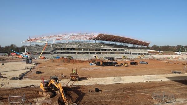 Stadium up and running