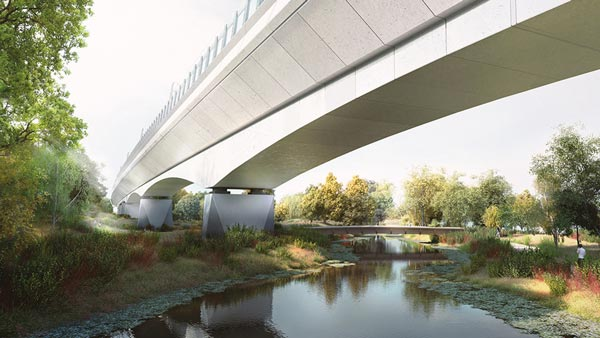 Contract awarded for HS2 temporary works