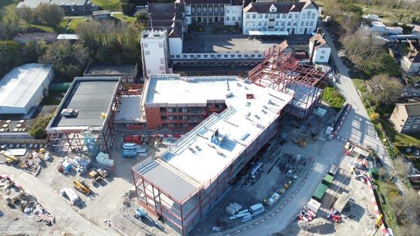 Steel creates landmark school