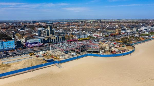 Steel makes a splash for seaside leisure