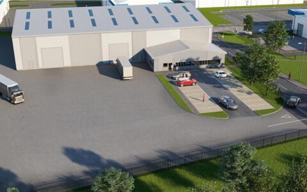 Planning consent granted for East Kilbride industrial warehouse
