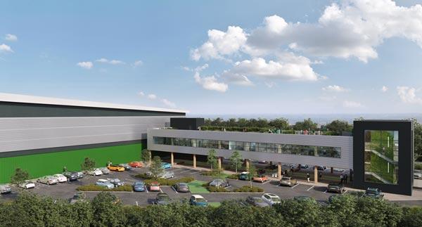 Contract awarded for Milton Keynes logistics centre