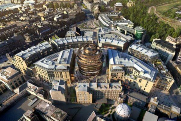 Edinburgh shopping mecca opens for business
