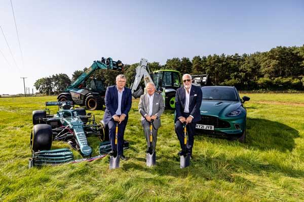 Work starts on Aston Martin's Silverstone factory
