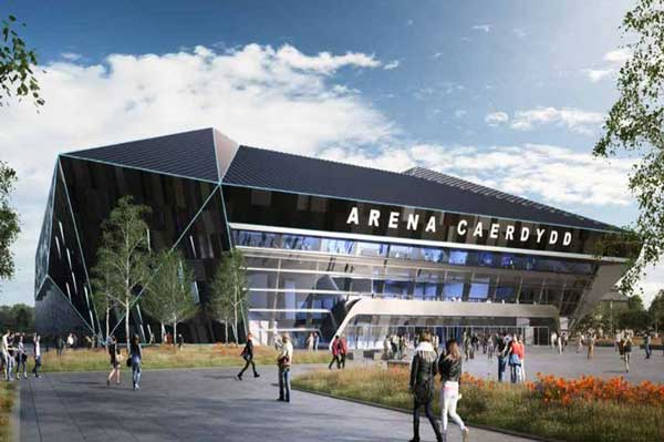 Construction due to start on Cardiff arena next year