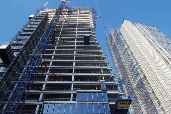 Demand for high-rise buildings remains strong