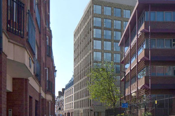 Contract awarded for Excellent Vauxhall office scheme