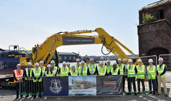 Work kicks off at new Everton stadium